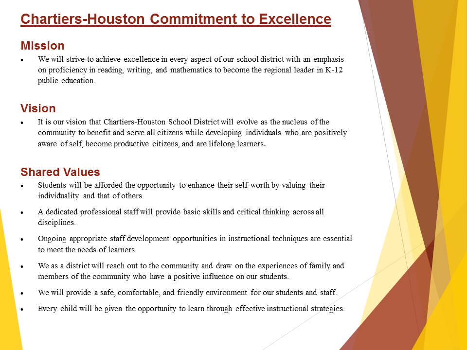 CHARTIERS-HOUSTON SCHOOL DISTRICT / Homepage