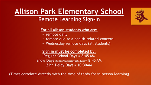 Remote Learning Sign-In